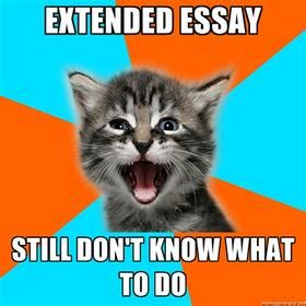 Ib french extended essay